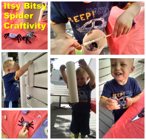 The Itsy Bitsy Spider Craftivity